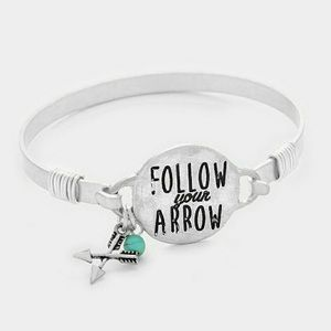 'Follow Your Arrow' Bracelet
