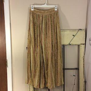 Talbots Dresses & Skirts - Talbots long accordion pleat maxi skirt size small