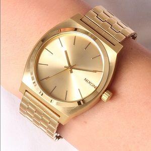Nixon Accessories - 🆕 Nixon Gold Time Teller Watch