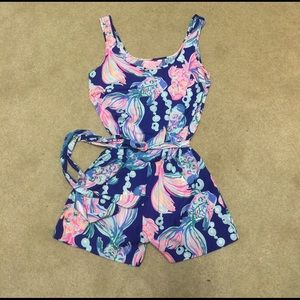 Lilly Pulitzer Other - Lilly Pulitzer Silk Romper