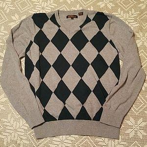 Ben Sherman Other - Ben Sherman Argyle Sweater XL
