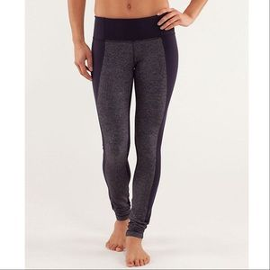 lululemon athletica Pants - Lululemon Wunder Under Colorblock Herringbone Pant