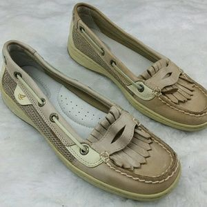 Sperry Top-Sider Shoes - Sperry Top Side Boat Shoes with Tassel fringe 6.5