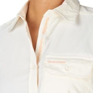 Craghoppers Tops - Craghoppers SPF Mosquito Repellent Ivory Shirt