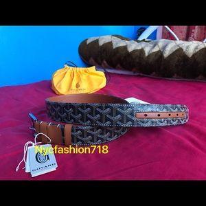 Goyard Other - Brand New & Genuine Brown Goyard belt 30-34