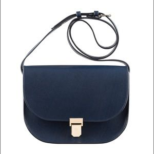 APC Handbags - APC A.P.C Vienne navy bag