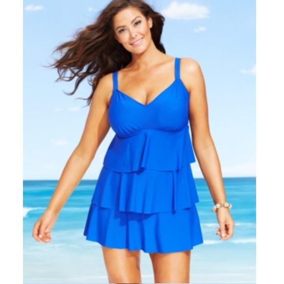 Ruffle Swim Dress