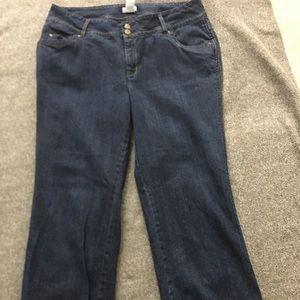Plus Size Jeans 18W Short Monroe Maine