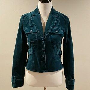 DKNY Jackets & Blazers - City DKNY Teal Jacket