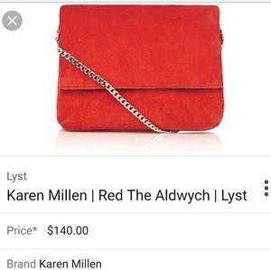Karen Millen Handbags - NWOT KAREN MILLEN the Aldwych bag