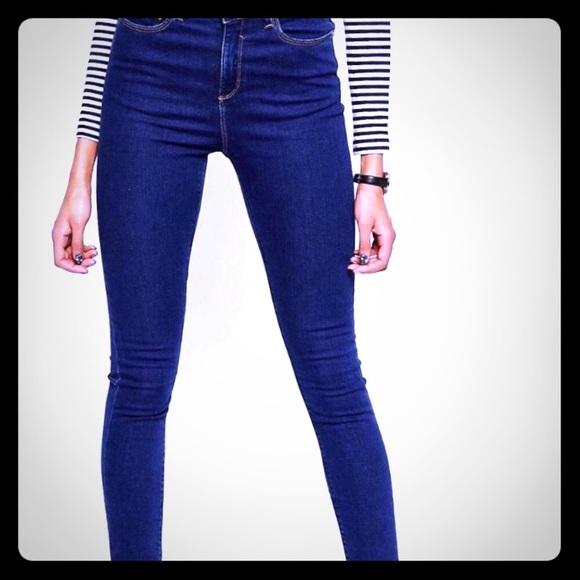 68e3466e9da ASOS Denim - ASOS Ridley High Waist Ultra Skinny Jeans Size 28