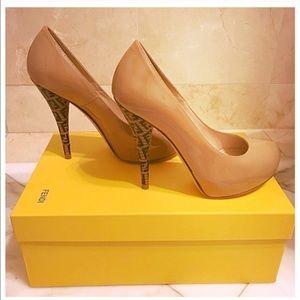 Fendi Shoes - Fendi Pumps ( size 6.5; 100mm)