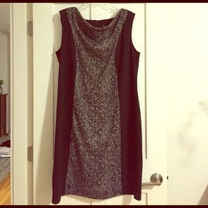 Lane Bryant Dresses & Skirts - Lane Bryant Sleeveless Cowl Neck Dress 14/16