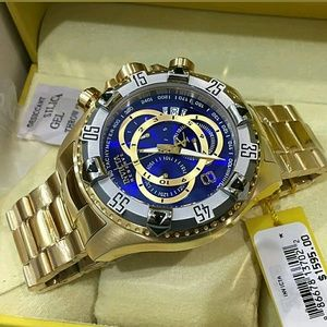 Invicta  Other - NWT Invicta Reserve Swiss Touring 18k Gold watch