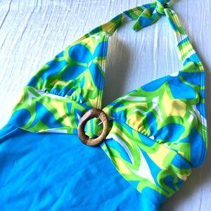 La Blanca Other - La Blanca Boho Haltar Swimsuit By Rod Beattie Sz 8