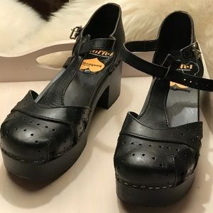 Swedish Hasbeens Shoes - Swedish hasbeens toffel black size 37