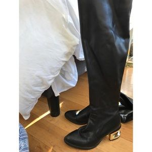 Jeffrey Campbell OTK Boots