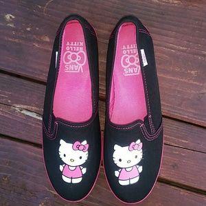Vans - Hello Kitty Slip On Shoes