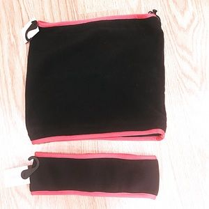 Primark Accessories - 🆑‼️❤️ NWT Black Red Headband & Neck Warmer