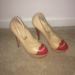 """Charlotte Olympia Shoes - """"Kiss Me Dolores"""" Charlotte Olympia Pumps"""