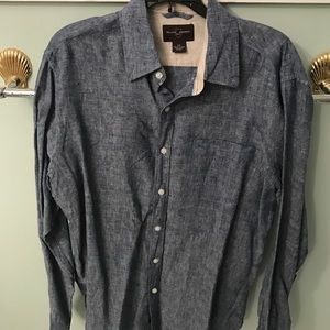 Black Brown 1826 Other - Black Brown Linen Shirt