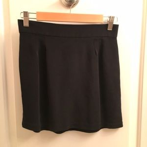 Naven Dresses & Skirts - Black Silk Mini Skirt