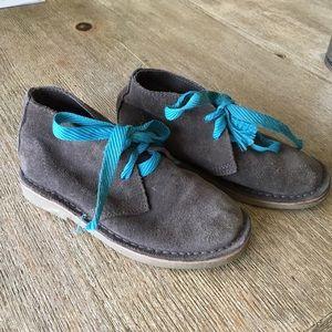 Robert Wayne Other - Super cute boys dress grey suede booties