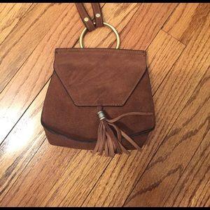 Nila Anthony Handbags - Suede Crossbody Bag