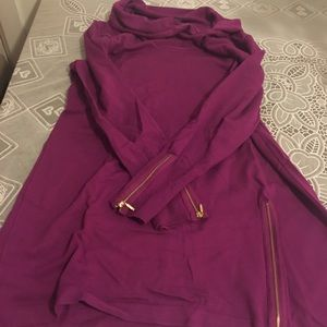 Alfani Sweaters - Alfani zipper sweater top