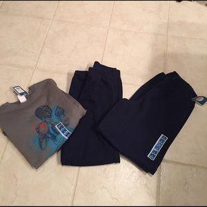 Circo Other - 2 pairs boys sweat pants with football sweatshirt
