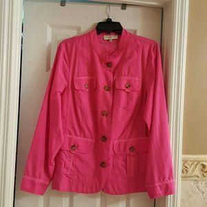 Jones New York Jackets & Blazers - Jones New York pink jacket