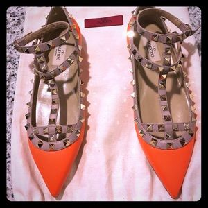 Valentino Garavani Shoes - Valentino Garavani Rockstud Flats