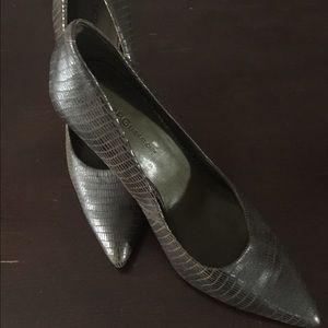 BCBG grey shoes