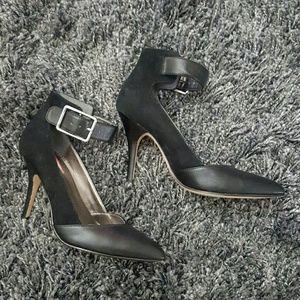 Calvin Klein Shoes - Calvin Klein Leather & Suede Nasia Pumps