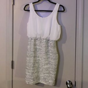 Emerald Sundae Dresses & Skirts - Silver and white party dress size large