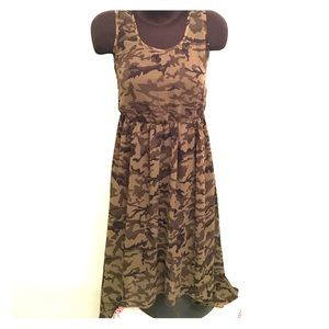 Speed Central Dresses & Skirts - High Low Camouflage Dress