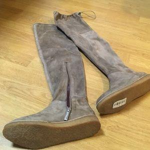 BCBG Shoes - BCBG Brennan Suede Boots