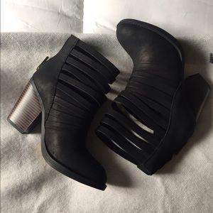 Black Booties 6.5