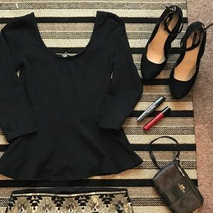 ◼️Black Pumps with Ankle Strap◼️