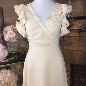 Ark & Co Dresses & Skirts - Ark and CO cream dress sz L