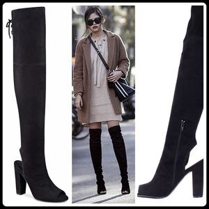 """Guess Shoes - JUST IN🌷 """"PEEP TOE"""" OVER-THE-KNEE BOOTS"""