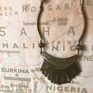 Jewelry - SALE Funky African brass necklace