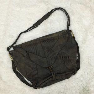 Deena & Ozzy Handbags - Deena & Ozzy shoulder bag faux snakeskin print