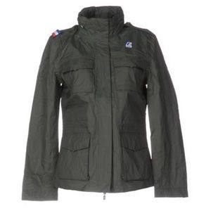 K-Way Jackets & Blazers - K-Way Womansfield Cotton Military Jacket