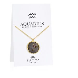 Satya Jewelry Accessories - Satya Aquarius Zodiac Necklace