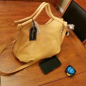 Foley + Corinna Handbags - 🆕Foley+Corinna trapeze side-zip satchel , honey