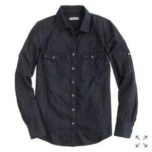 J.CREW Keeper chambray shirt