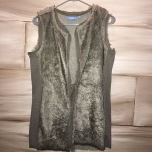 Simply Vera Vera Wang Other - Faux Fur Vest