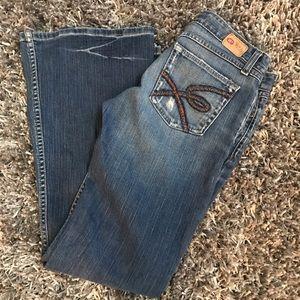 BKE Denim - BKE Jeans Star Stretch Frayed Boot Cut Denim