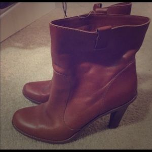 Cole Haan Booties size 11 leather